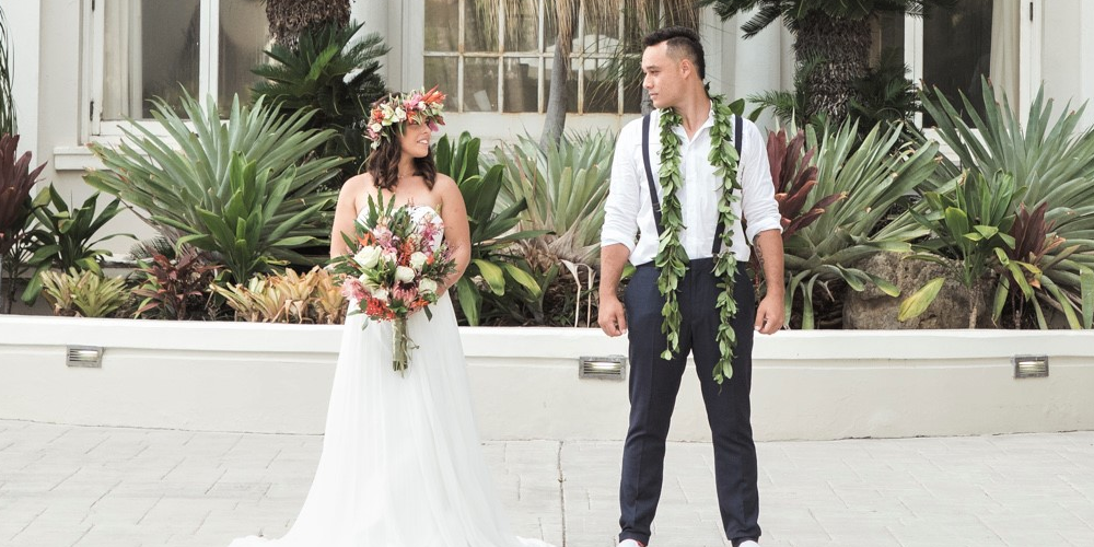 Destination Weddings Tying The Knot In The Aloha State