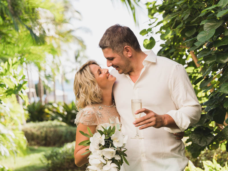 Elena Wedding - Destination Weddings In Hawaii